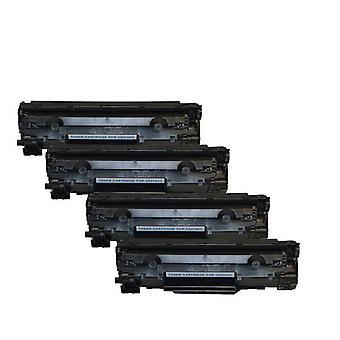Hp Ce278 78A Cart326 Toner générique noir X 4