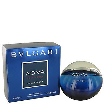 Bvlgari Aqua Atlantique Eau De Toilette Spray por Bvlgari 3,4 oz Eau De Toilette Spray