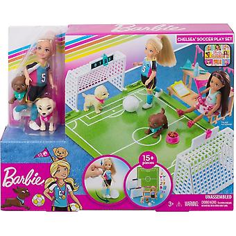 Barbie Club Chelsea Football Playset