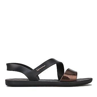 Women's Ipanema Vibe Sandals in Black