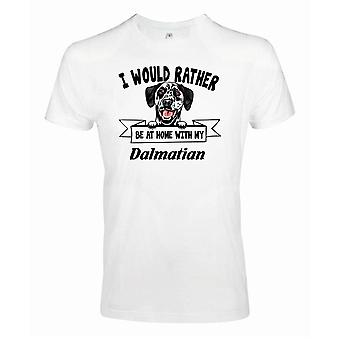 T-shirt pour chien Dalmatien Kikande - Plutôt être avec...