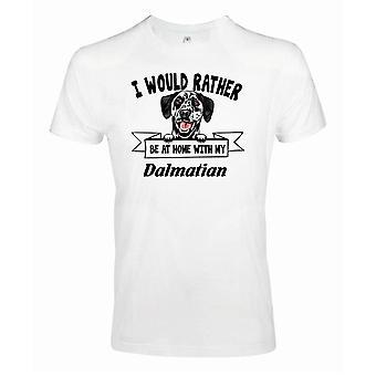 Dalmatiner Kikande Hund T-shirt - Eher mit...