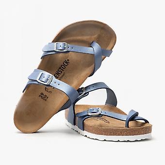 Birkenstock Mayari 1016846 (reg) Naisten ristihihna sandaalit Azure Sininen