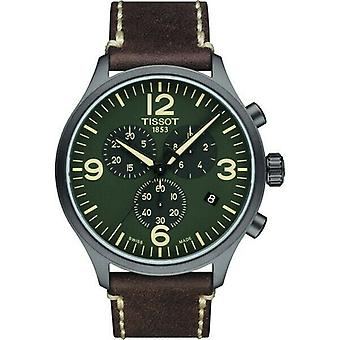 Tissot T116.617.36.097.00 T-Sport Chronograph XL Olive Green Dial Men's Watch