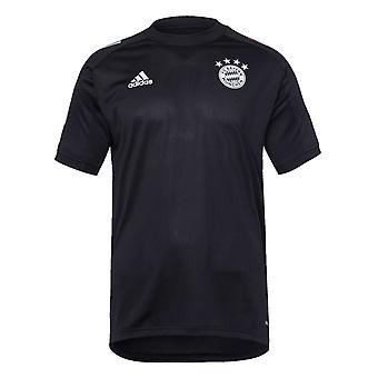 2020-2021 بايرن ميونيخ أدداس تدريب قميص (أسود) - أطفال