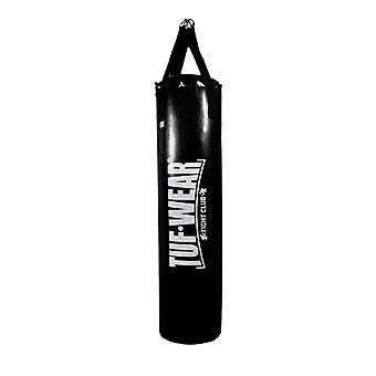 Tuf Wear Punch Bag Black Large Vertical Logo 3FT Black