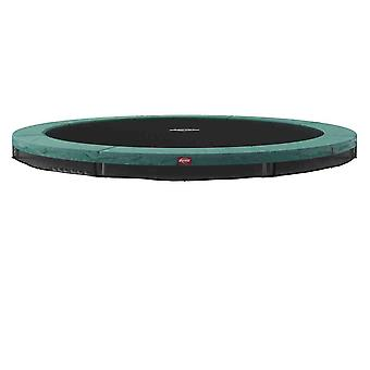 berg green favorit inground 430 14ft trampoline