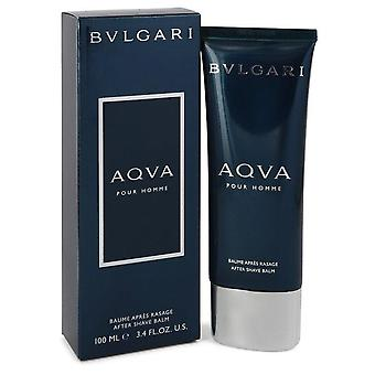 Aqua Pour Homme After Shave Balm By Bvlgari 3.4 oz After Shave Balm