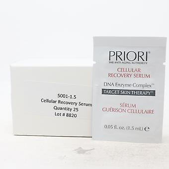Priori DNA Enzyme Complex Cellular Recovery Serum Pack Of 25  / New