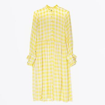 Baum Und Pferdgarten - Agacia Creamy Lemon Check Dress