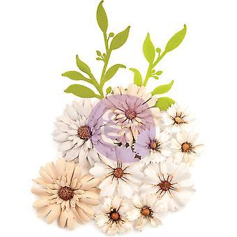 Prima Marketing Pretty Pale Flowers Floral Landscape