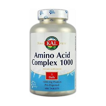 Aminozuurcomplex 100 tabletten van 1000mg