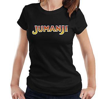 Jumanji 1995 Film Logo Women's T-Shirt