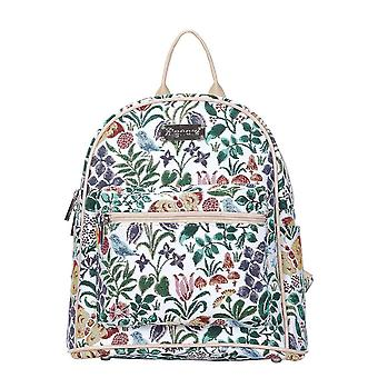 Voysey - spring flowers casual daypack by signare tapestry / dapk-spfl