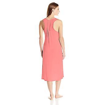 Brand - Arabella Women's Racerback Nightgown, Salmon, Small