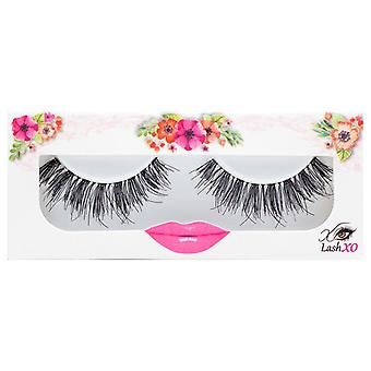 Lash XO Premium False Eyelashes - Wispy Chic - Natural yet Elongated Lashes