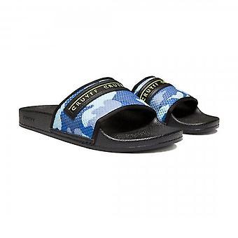 Cruyff Classics Cruyff Agua Copa Ocean Blue Camo Slide Sandals CC6000201750