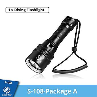 Ip68 Powerful Diving Flashlight Highest Waterproof - Professional Diving Light