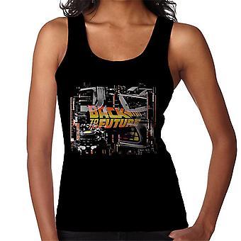 Takaisin tulevaisuuteen Delorean Montage Women's Vest