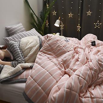 Fleece peitot Super Soft Pussilakanat Luxury Blankets Adult Paksu Lämmin Talvihuovat Kotiin