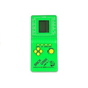 Tetris brick game draagbaar groen