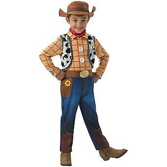 Woody Cowboy Deluxe Disney Toy Story 4 Film Boek Week Child Boys Kostuum 4-6