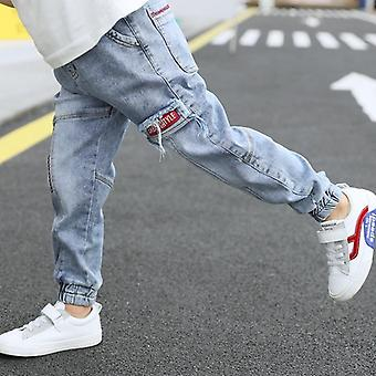 Kids Jeans Pants, Soft Denim, Ankle-length Pants Cotton Casual