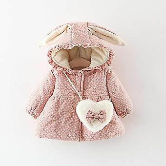 Autumn, Winter Baby Coats Jackets For, Print Hooded