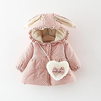 סתיו, חורף מעילי תינוקות מעילים עבור, דפוס עם קפוצ'ון