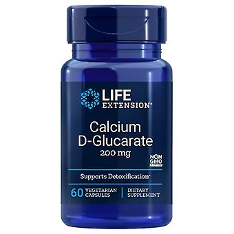 Life Extension Calcium D-Glucarate, 200 mg, 60 Vcaps