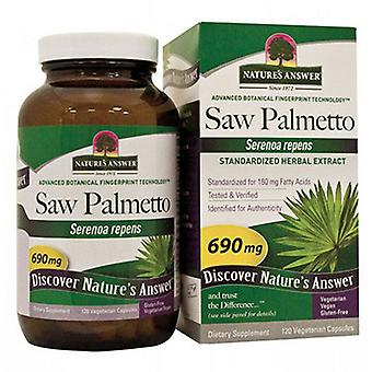Nature's Answer Saw Palmetto Berry Extract, 120 Veg Caps