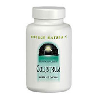 Fonte Naturals Colostrum, 650 MG, 30 Schede