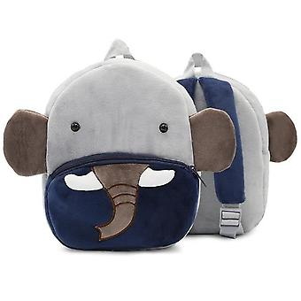 Cartoon Shape Baby Peluche Sac à dos (26.5*24cm,)
