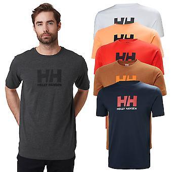 Helly Hansen hombres 2020 clásico manga corta algodón logo camiseta