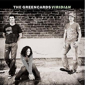 Greencards - Viridian [CD] USA import