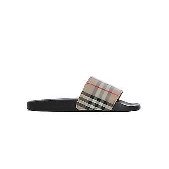Burberry 8023965a7026 Men's Beige Pvc Sandals