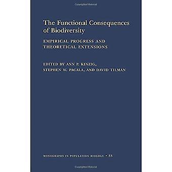 De functionele gevolgen van biodiversiteit: empirische vooruitgang en theoretische extensies (MPB-33)
