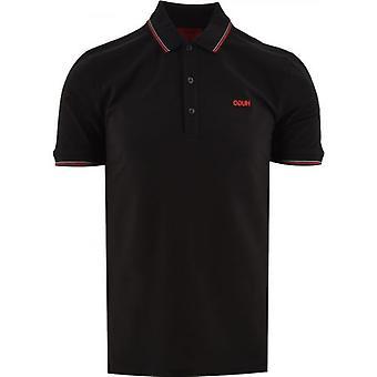 هوغو أسود Dinoso 211 قميص بولو