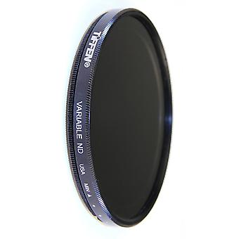 Tiffen 77mm variable neutral density camera lens filter-black filter only black