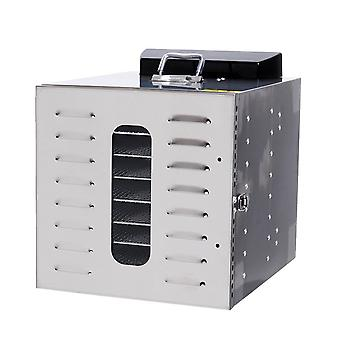 Food Dehydrator, Fruit Groente Herb Vlees Drogen Machine RvS