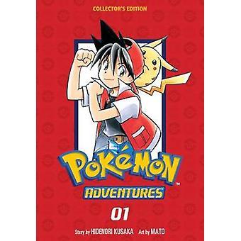Pokemon Adventures Collector's Edition 1 Volume 1 Pokmon Adventures Collectors Edition