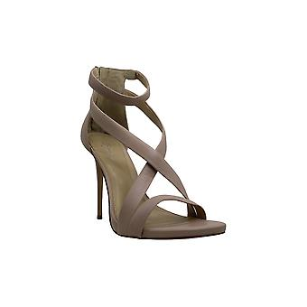 BADGLEY MISCHKA Womens Shari Open Toe Ankle Strap Classic Pompes