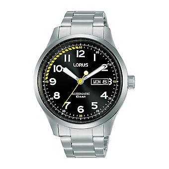 Lorus RL457AX-9 يوم الاتصال الأسود تاريخ ساعة اليد التلقائي
