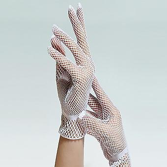 Summer Uv-proof Driving Gloves Mesh Fishnet Gloves, Nylon Mesh Solid Thin