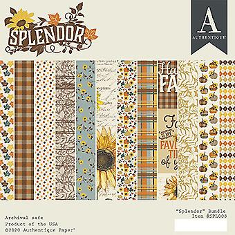 Authentique Splendor 6x6 pulgadas De papel Pad