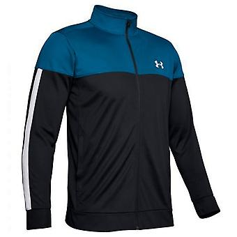 Under Armour Mens Sportstyle Pique Jacket Zip Up Track Top 1313204 417