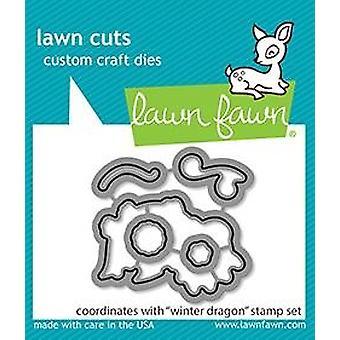 Lawn Fawn Winter Dragon Dies