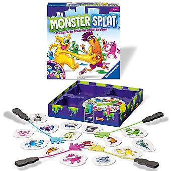 Ravensburger 20541 splat kids age 5 years and up-the frenzied reaction game. slap the monsters as fa