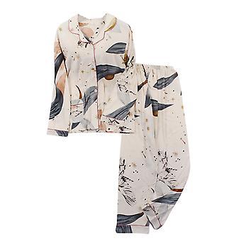 YANGFAN Naiset Painettu Pyjama Set