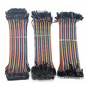 40-120pcs Dupont Line 20cm 40pin männlich zu männlich, männlich zu weiblich und weiblich zu
